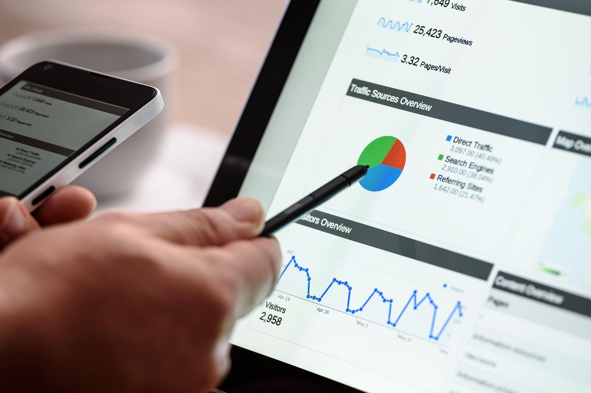 Analyse mit SEO Optimierung als wichiges Element der eigenen Webseite