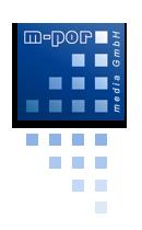 Firmenlogo m-por media GmbH