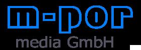 Logo der m-por media GmbH