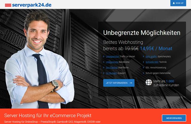 Provider Serverpark 24 aus Recklinghausen